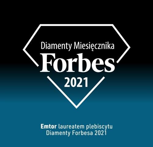 """Emtor laureatem prestiżowego wyróżnienia """"Diamentów Forbesa"""""""
